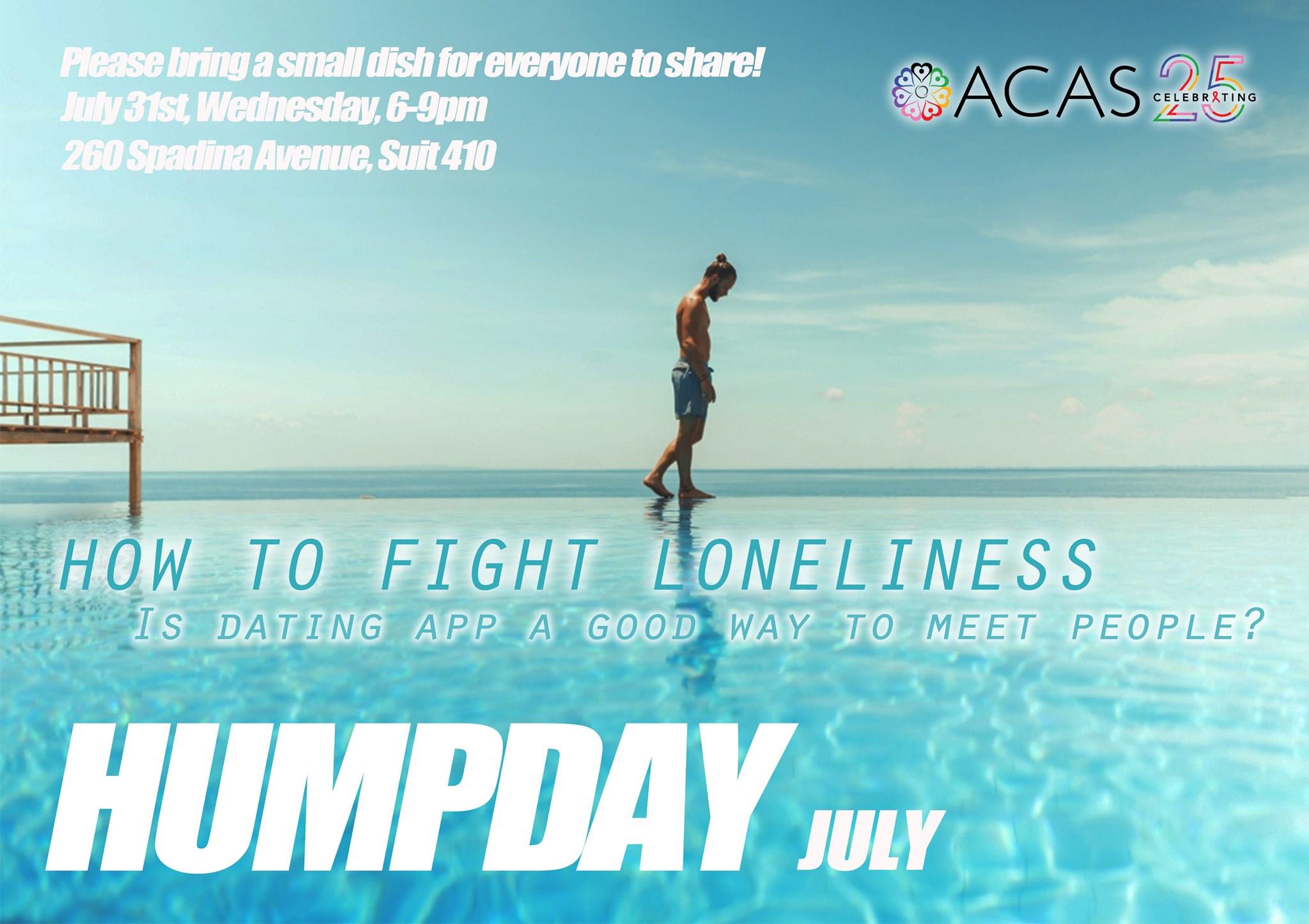 Men's Humpday Potluck July 31