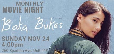 Movie Night Nov 24, 4pm