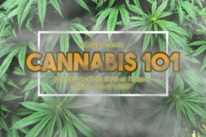 Cannabis 101 Poster - April 20