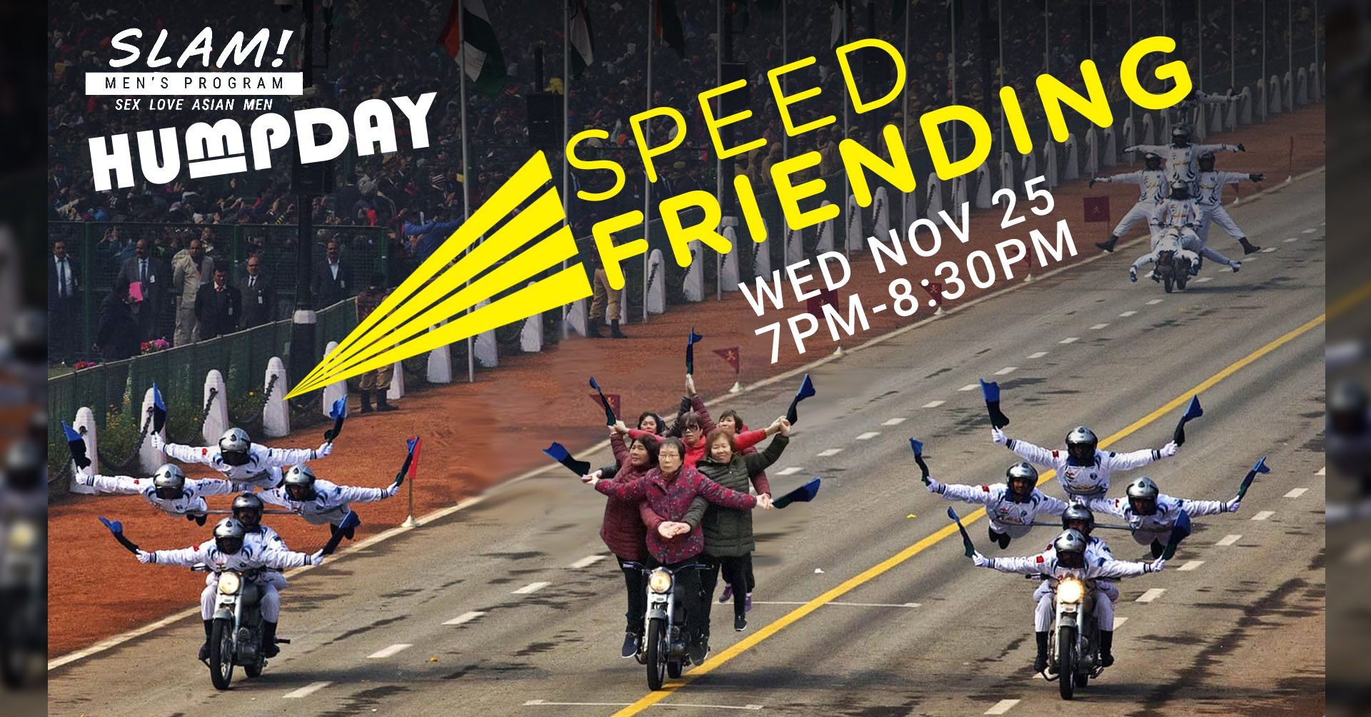 Poster for Humpday Speed Friending