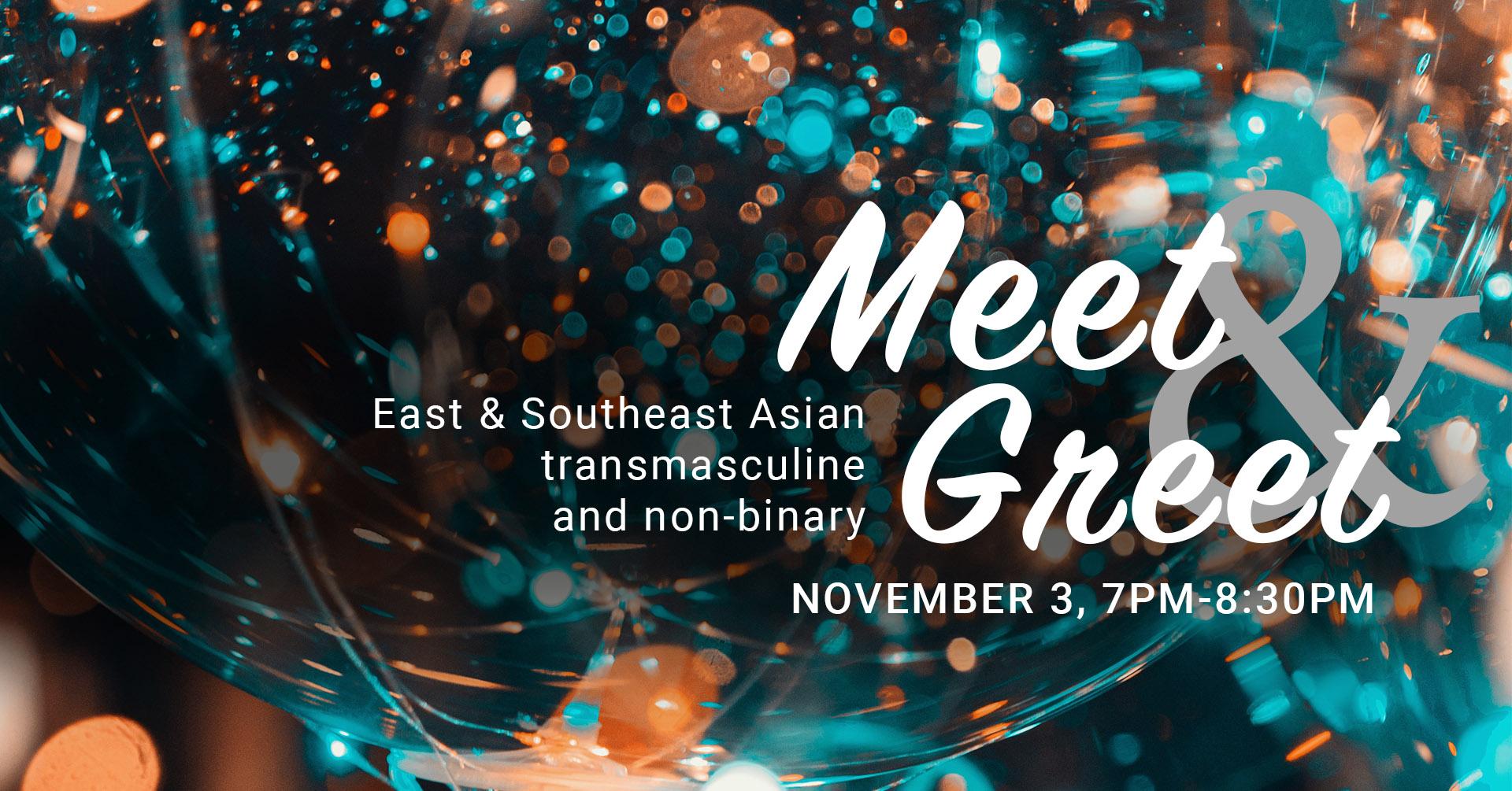 poster for asian transmasc meet greet