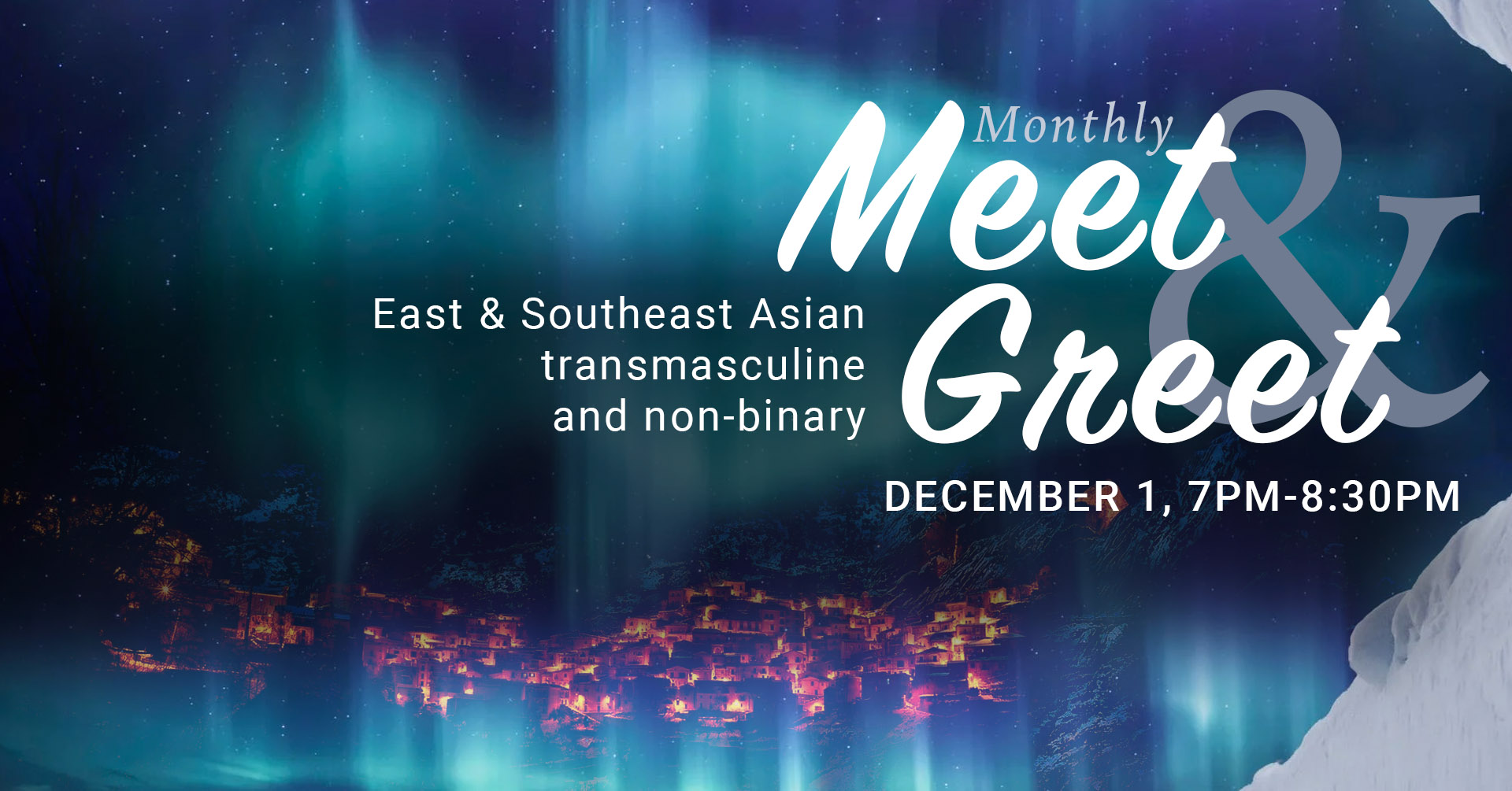 poster for monthly asian transmasc group