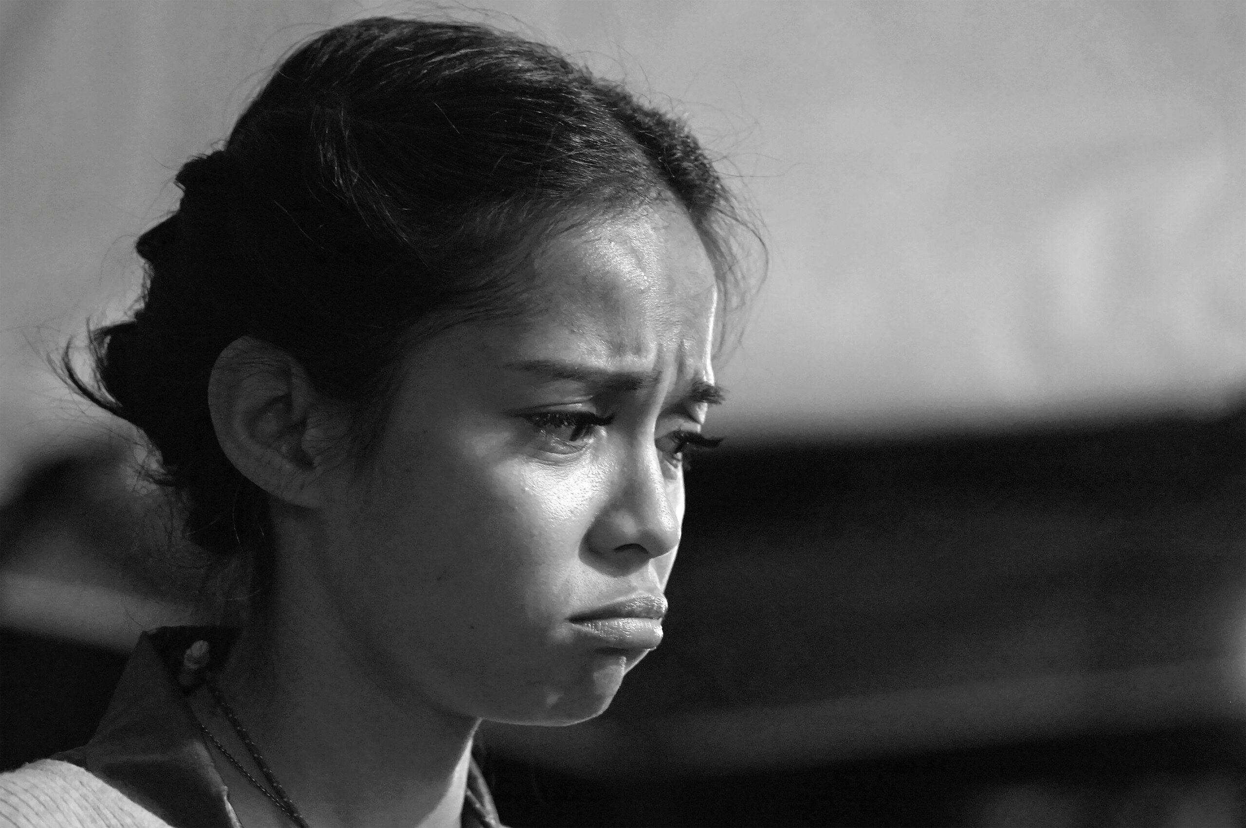 Asian sad