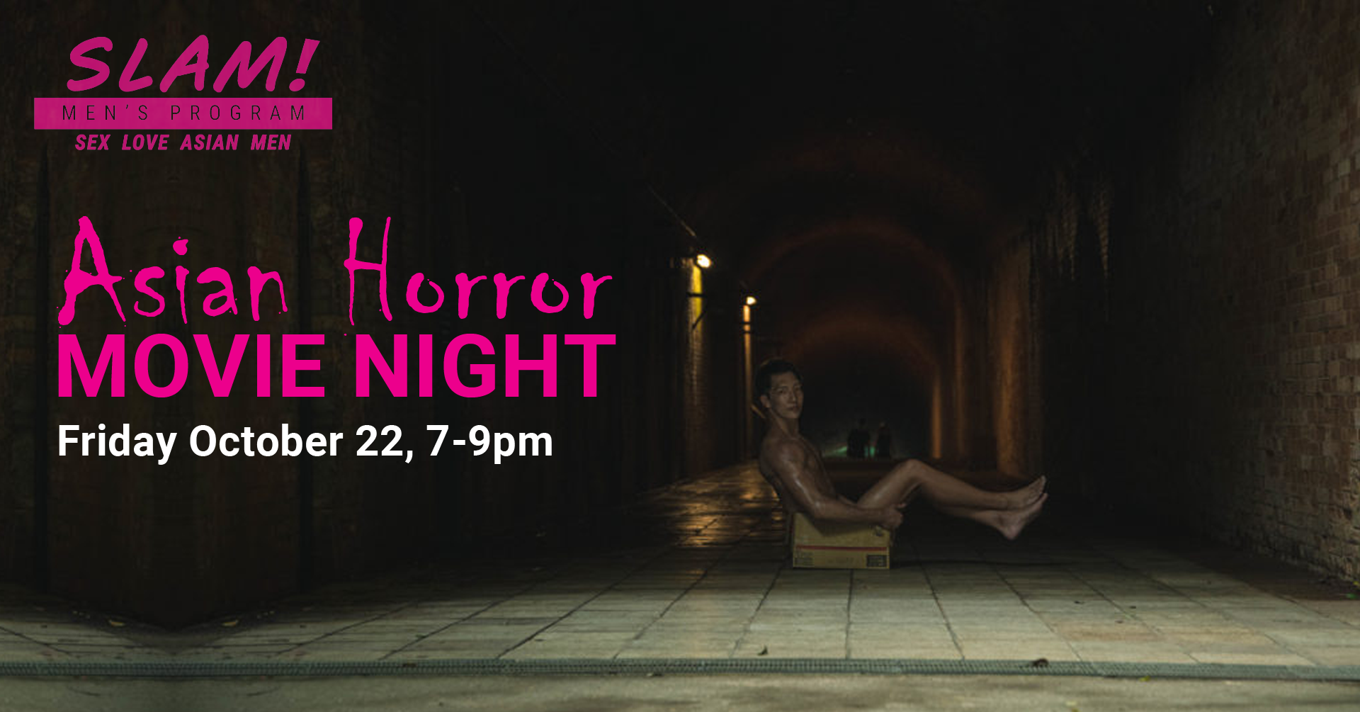 asian horror movie night poster
